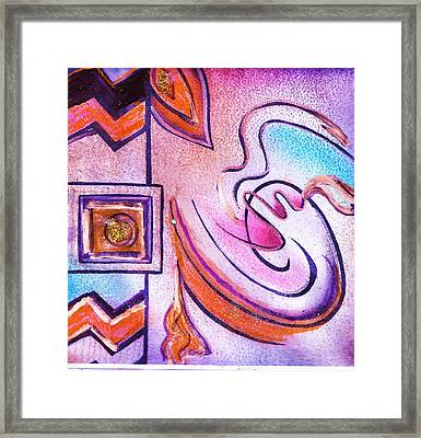 Out Of The Proverbial Box   Framed Print by Anne-Elizabeth Whiteway