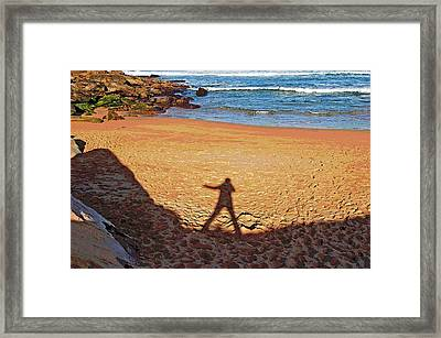 Framed Print featuring the photograph Out Of The Shadow by Ankya Klay