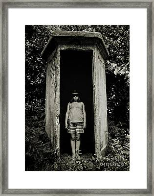 Out Of The Shadows Framed Print by Mark Miller
