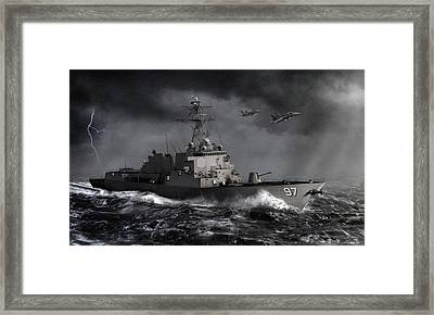 Out Of The Storm Framed Print by Dale Jackson