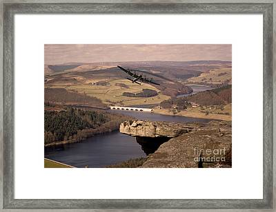 Out Of The Valley Framed Print by J Biggadike