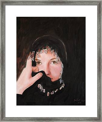 Out Of The Void Framed Print by Jean-Paul Setlak