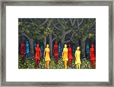 Out Of The Woods Framed Print by Linda Carmel