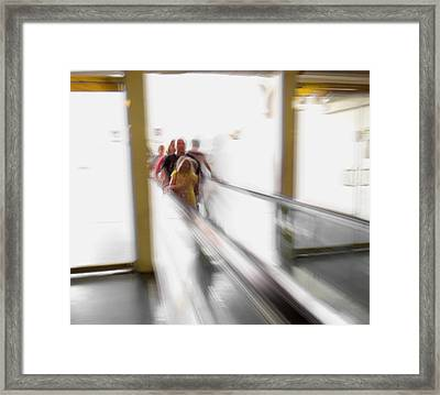 Out Of Thin Air Framed Print