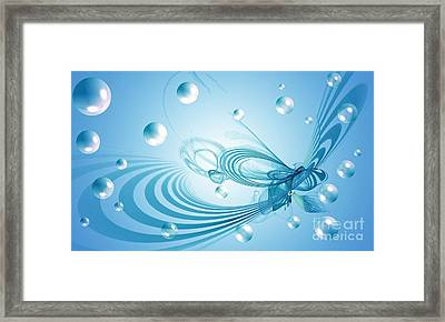 Out Of This World Framed Print by Peggy Hughes