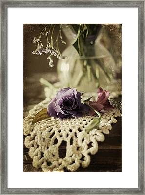 Out Of Water Framed Print by Larysa  Luciw