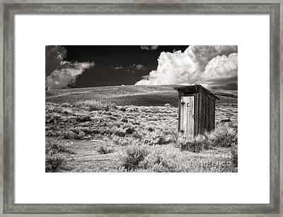 Out On The Range Framed Print
