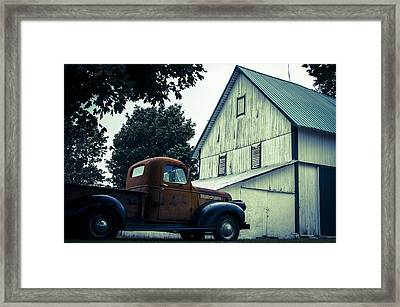 Out Past The County Line  Framed Print by Off The Beaten Path Photography - Andrew Alexander