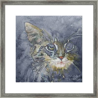 Out The Blue You Came To Me Framed Print