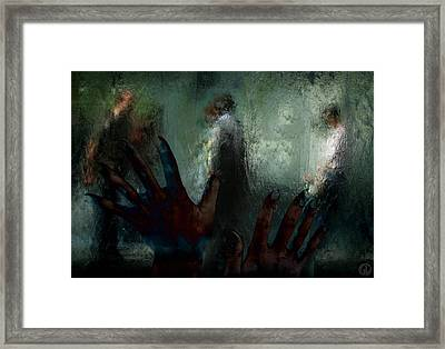 Out There In Real Life Framed Print