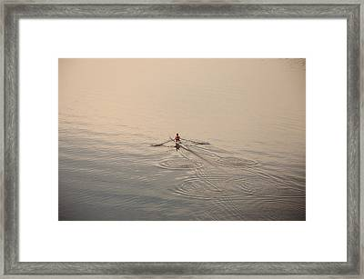 Out There On Your Own Framed Print by Bill Cannon