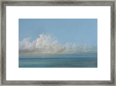Out There Framed Print by Peter Laughton