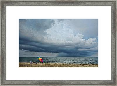 Out To Sea - Outer Banks Framed Print