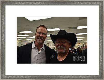 Out With Mark Mcgwire Framed Print by Tommy Anderson