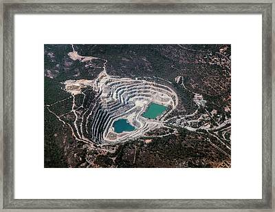 Outback Quarry Framed Print by Paul Williams