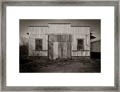 Outbuilding Framed Print by Bud Simpson
