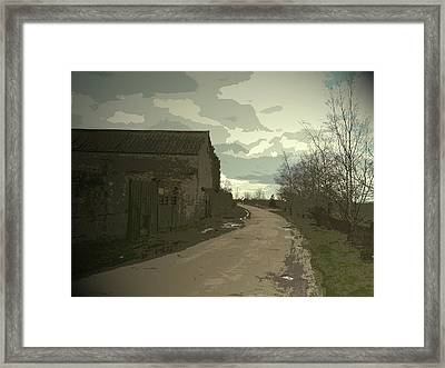 Outbuilding By Ramper Road In Carr,  Outbuilding By Ramper Framed Print by Litz Collection