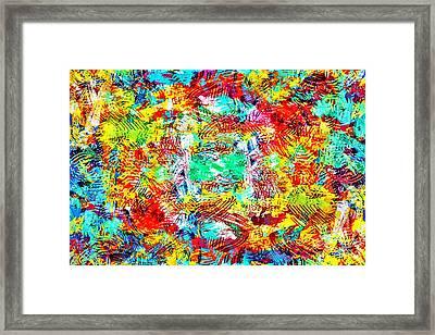 Outburst Framed Print by Steven Llorca