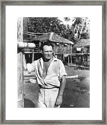 Outcast Of The Islands, Trevor Howard Framed Print by Everett