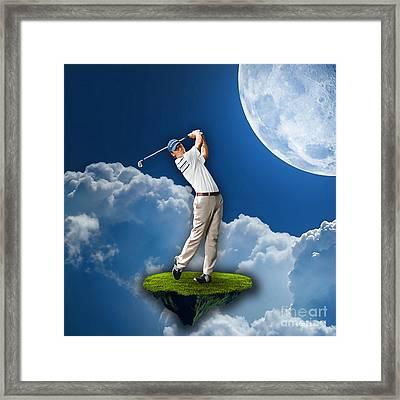 Outdoor Golf Framed Print by Marvin Blaine