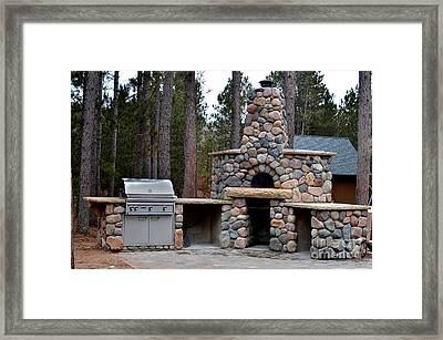 Outdoor Kitchens Framed Print