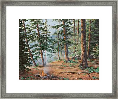 Outdoor Life Framed Print