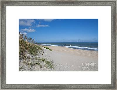 Outer Banks Beach  Framed Print by Kay Pickens