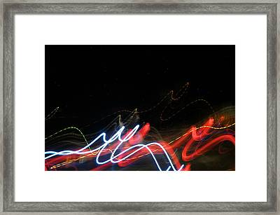 Outer Space Playground Framed Print