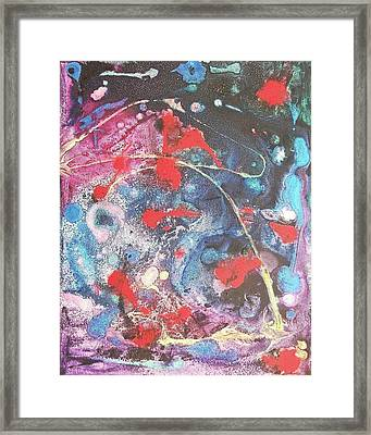 Outer Space Framed Print