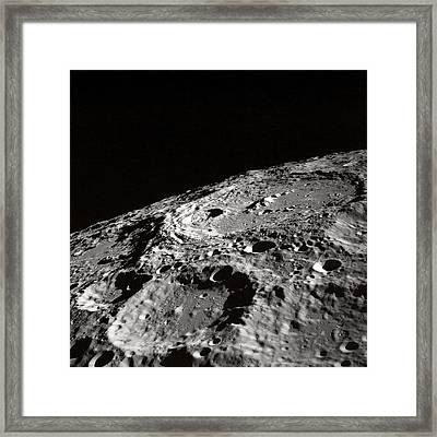 Outer Space Two Four Zero Framed Print by Nasa Usgs