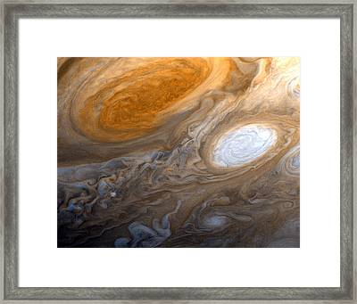 Outer Space Two Six Four Framed Print by Nasa Usgs