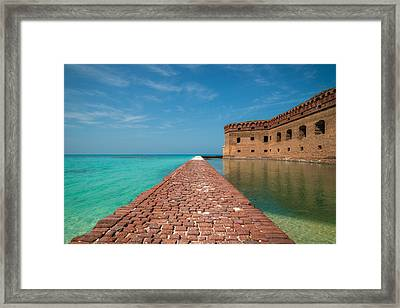 Outer Walk Framed Print by Kristopher Schoenleber