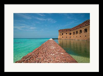 Dry Tortugas Framed Prints
