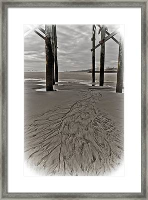 Outgoing Tide Framed Print