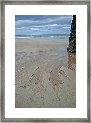 Outgoing Tide Framed Print by Fraser McCulloch