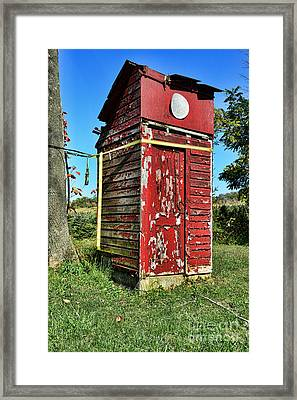 Outhouse 9 Framed Print