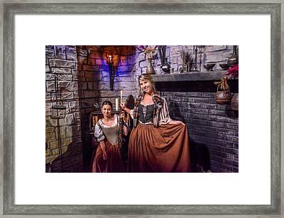 Outlander Framed Print by Pamela Schreckengost