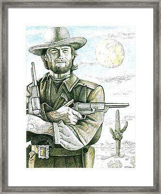 Outlaw Josey Wales Framed Print