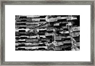 Outlier Framed Print