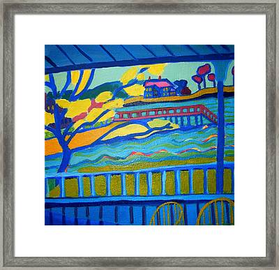 Outlook Framed Print by Debra Bretton Robinson