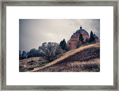 Framed Print featuring the photograph Outlook by Trever Miller