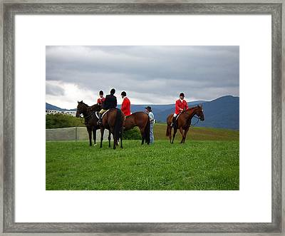Outriders Framed Print