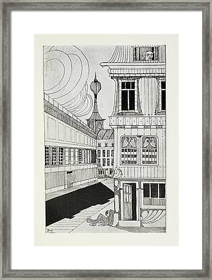 Outside A House Framed Print by British Library