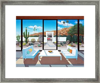Outside And Beyond Framed Print