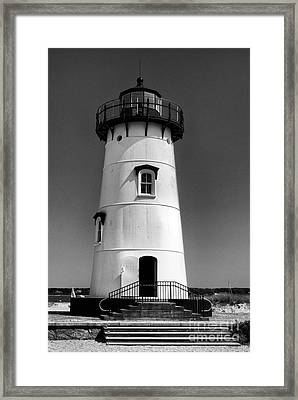 Outside Edgartown Lighthouse Framed Print