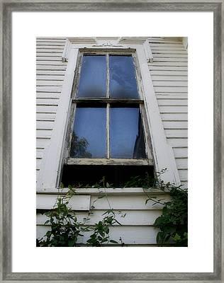Enter In Framed Print by Paulette Maffucci