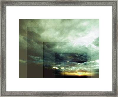 Outside Insight Framed Print by Florin Birjoveanu