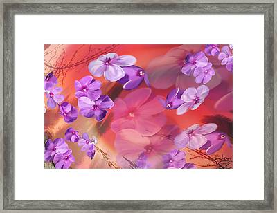 Framed Print featuring the painting Outside Inspirations by Janie Johnson