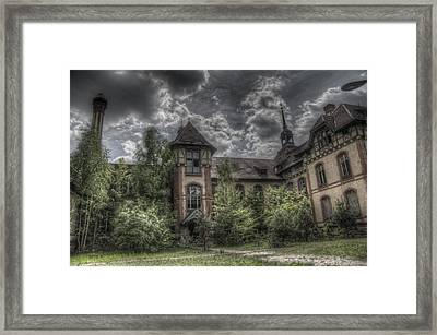 Outside Framed Print by Nathan Wright