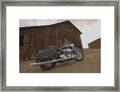 Outside The Barn Bts Framed Print by Yo Pedro